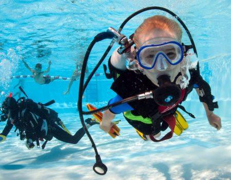 Prova på dyk med Malmö Dykskola